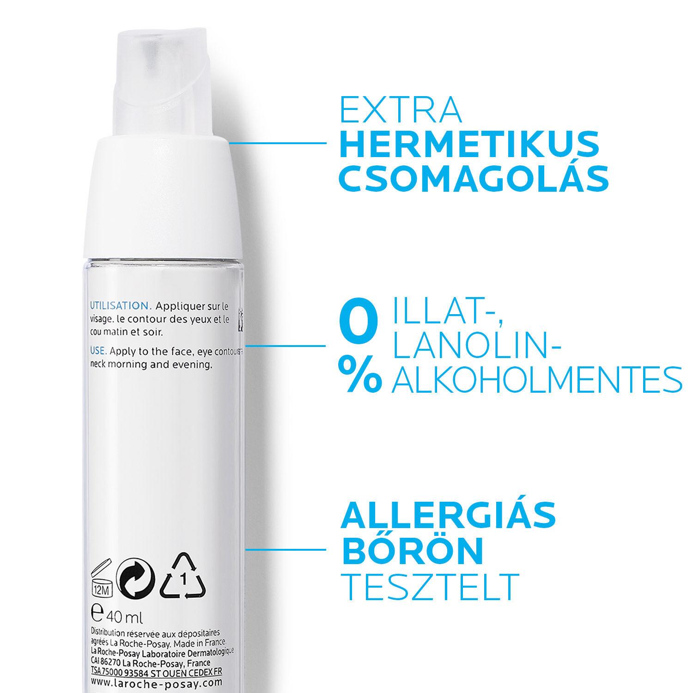 La Roche-Posay Toleriane Ultra Fluid intenzív nyugtató bőrápoló arcra és szemkörnyékre 40 ml