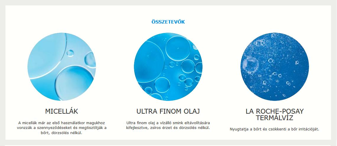 La Roche-Posay Ultra kétfázisú micellás víz