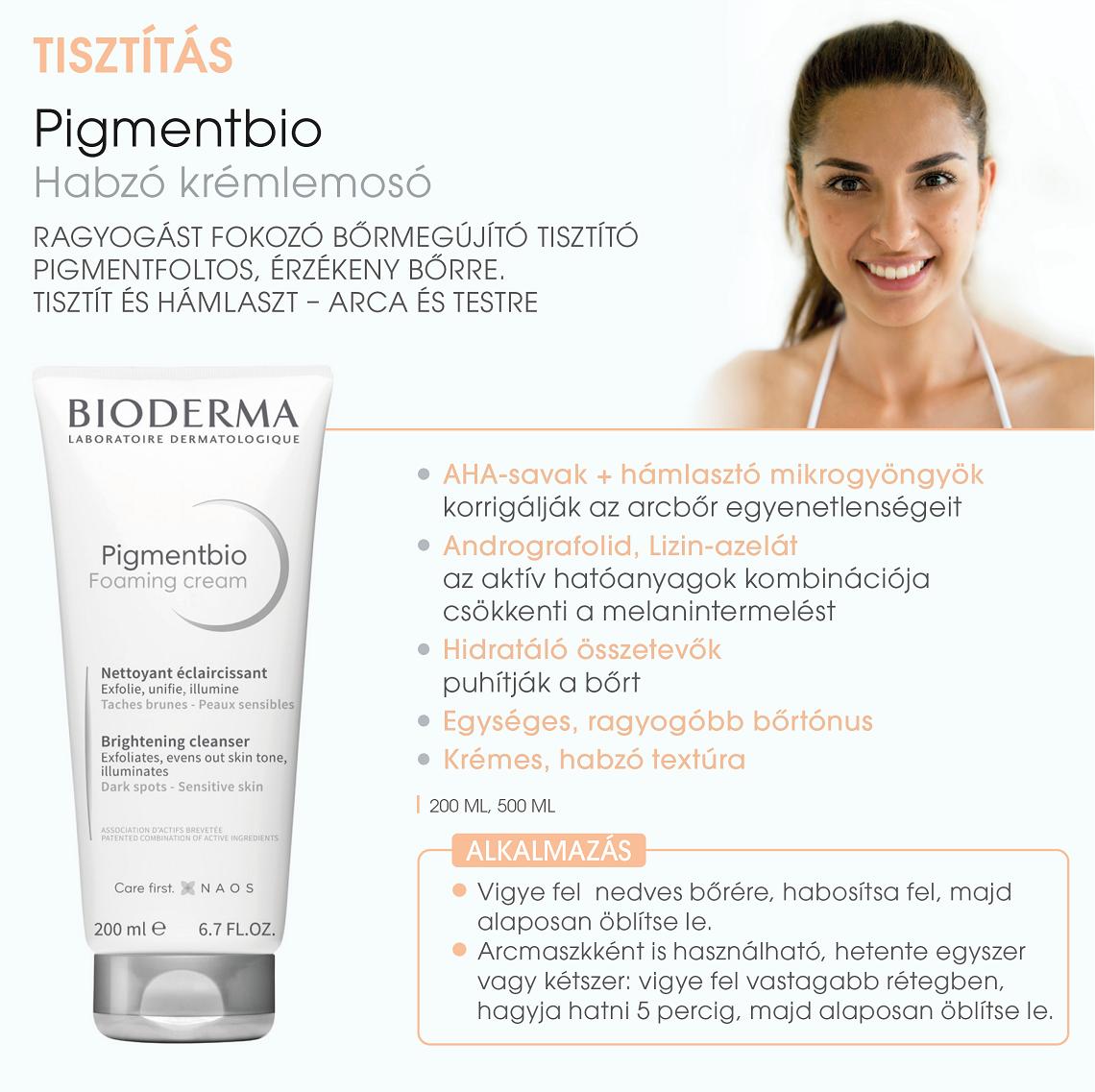 Bioderma Pigmentbio termékcsalád