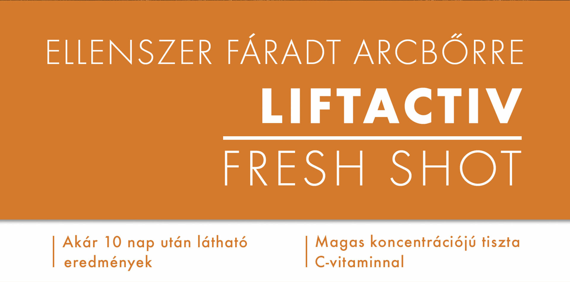 Vichy Liftactiv Fresh Shot