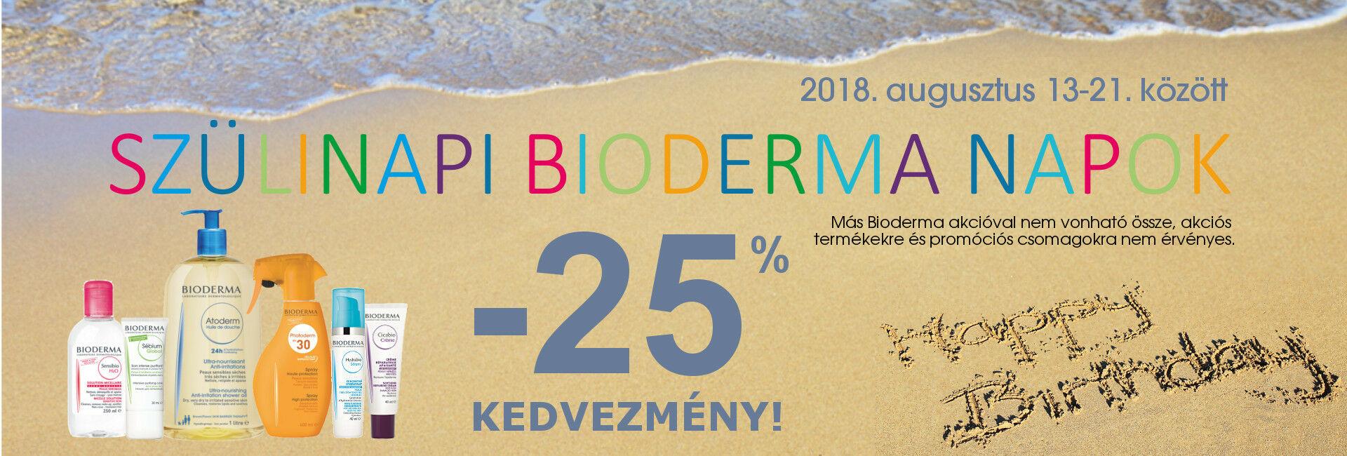 a600243392 SZületésnapi Bioderma Napok: 2018. augusztus 13-21. között minden Bioderma  termékre 25