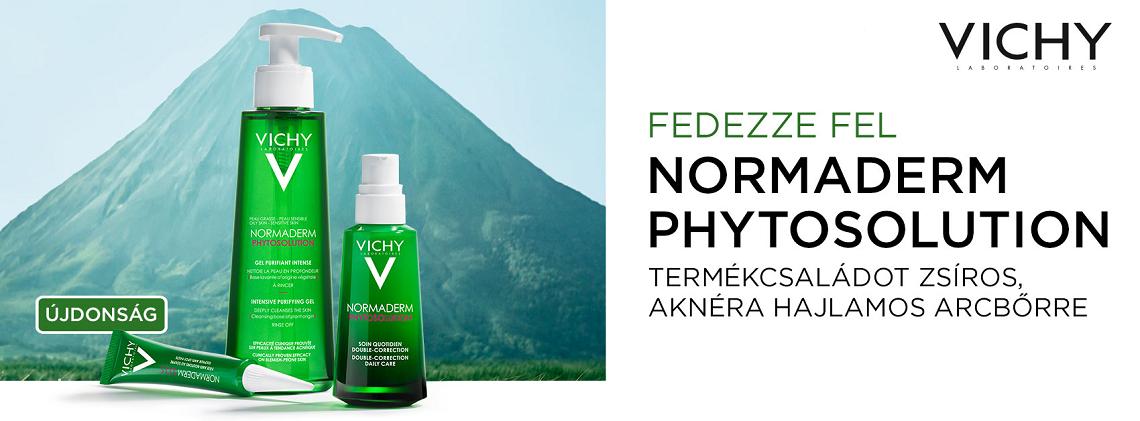 Vichy Normaderm Phytosolution termékcsalád zsíros bőrre